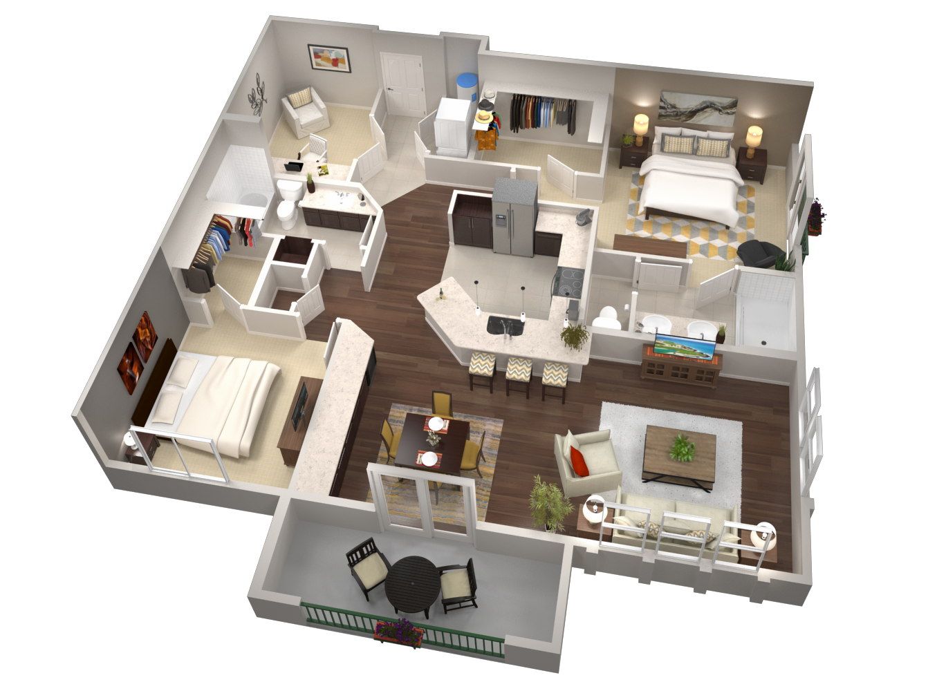 Build a Dynamic Future with 3D Floor-plans