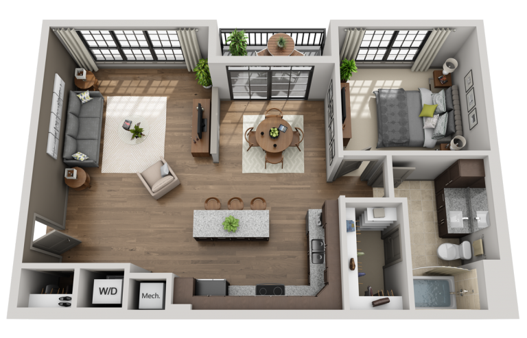 What Can 3D Architectural Rendering Services Do For Me?