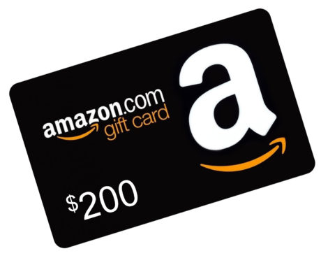 Amazon $200 Gift Card image