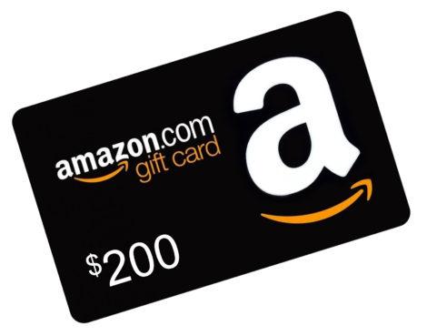 Amazon $200 Gift Card image