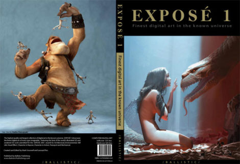 Expose Book - Front and Back Covers